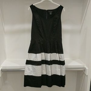 White House Black Market Princess-Lined Dress